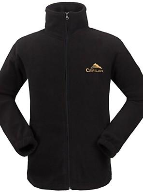 Cikrilan® Roupa de Esqui Jaquetas em Velocino / Lã / Jaquetas Softshell / Jaqueta de Inverno / Jaquetas de Esqui/Snowboard / Blusas Homens