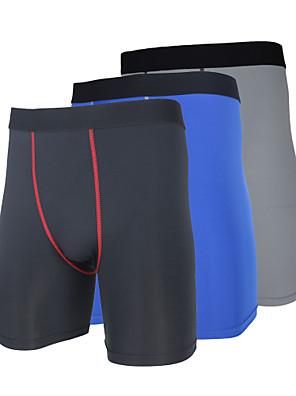 Arsuxeo® Cueca Boxer Acolchoada Homens MotoRespirável / Secagem Rápida / Design Anatômico / Vestível / Anti-Estático / Antibacteriano /