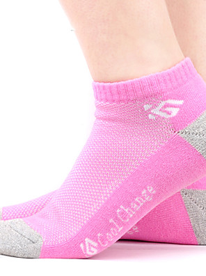 גרביים אופנייים נושם / מגביל חיידקים לנשים כותנה / Coolmax