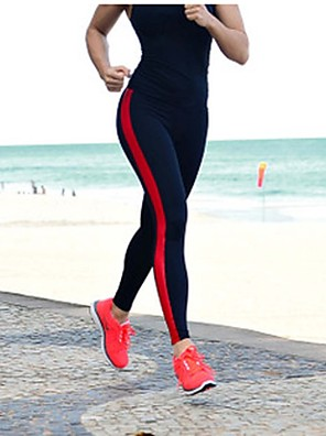 Běh Kalhoty / Legíny / 3/4 Tights / Spodní část oděvu Dámské Rychleschnoucí / Nositelný / Komprese / Odolné vůči šokům elastanJóga /