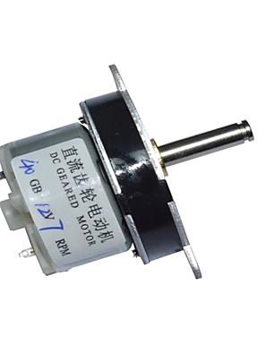40mm dc 12v 7rpm hoog koppel elektrische versnellingsbak motor