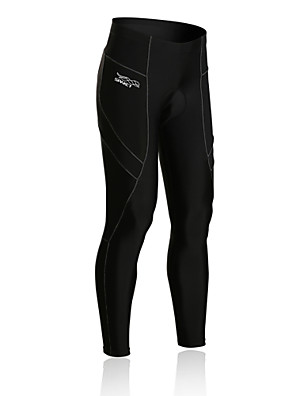 SPAKCT® מכנסי רכיבה לגברים נושם / דחיסה / 3D לוח / מכפלת עם מחזיר אור אופניים טייץ רכיבה על אופניים / Suit דחיסה / מכנסיים ספנדקס / ניילון