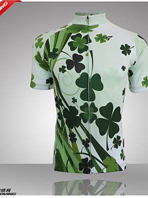 Getmoving® Camisa para Ciclismo Mulheres Manga Curta Moto Respirável / Bolso TraseiroCamiseta Polo / Camisa/Fietsshirt / Personalizado /