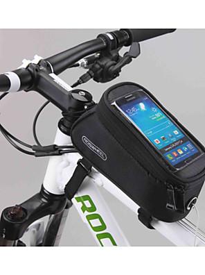 Bolsa de Bicicleta 1.8L Bolsa para Quadro de Bicicleta / Bolsa Celular Multifuncional / Sensível ao Toque Bolsa de Bicicleta Plástico/ Póliester