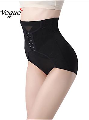 Burvogue Women's High Waist Slimming Girdle Butt Lifter Bodysuit Body Shaper
