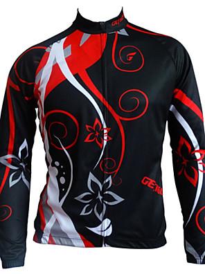 Getmoving® חולצת ג'רסי לרכיבה לנשים / לגברים / לילדים / יוניסקס שרוול ארוך אופניים נושם / עיצוב אנטומי / נגד חרקים / כיס אחוריג'רזי /