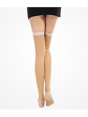 גרביים / גרבי דחיסה אופנייים נושם / דחיסה לנשים / יוניסקס אלסטיין / Chinlon