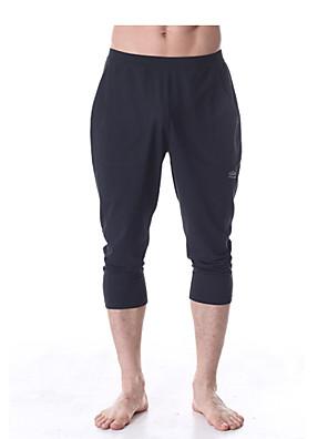 Yoga Pants Underdele / Bukser Firevejs-strækbart / Holdt følelse / Kompressionszoner Naturlig Strækkende Sport Wear Herre AndreYoga &