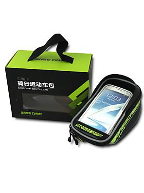 Basecamp® Cyklistická taška 2.5LLBrašna na rám / Mobilní telefon Bag / Brašna na řídítkaVoděodolný / Odolné vůči dešti / Reflexní pásek /