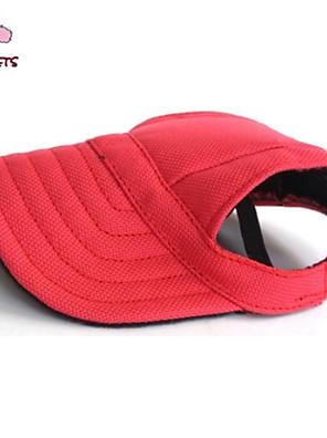 kočičky pejsky šátky a kloboučky Červená Modrá Černá Oblečení pro psy Léto Jaro/podzim Jednobarevné Dovolená