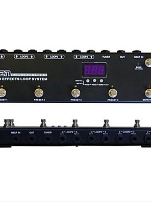 Моен gec438 педаль переключатель гитарный эффект система маршрутизации петлителя