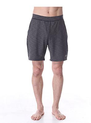 Yoga Pants Underdele / Bukser / Shorts / Baggy shorts Firevejs-strækbart / Holdt følelse / Kompressionszoner Naturlig StrækkendeSport