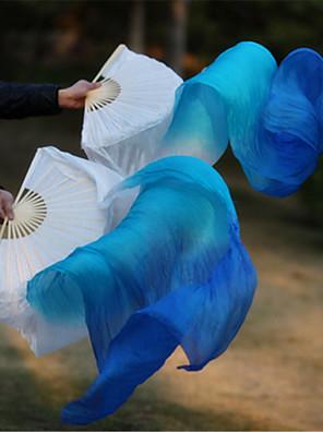 Břišní tanec Jevištní doplňky Dámské / Unisex Výkon / Trénink Elastický hedvábný satén 2 kusy Hůlka Around 180cm