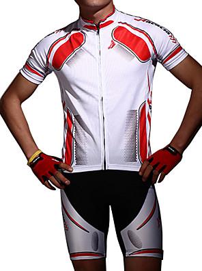 Akát® Cyklodres a kraťasy Unisex Krátké rukávy Jezdit na koleProdyšné / Anatomický design / Odolné vůči prachu / Bez statické elektřiny /