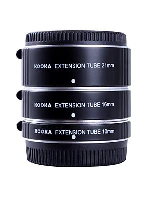 kooka kk-ft47a af alumínium hosszabbító cső készlet Olympus Panasonic mikro 4/3 rendszer (10mm, 16mm, 21mm) kamerák