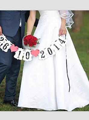Parelpapier Wedding Decorations-1piece / Set Lente / Zomer / Herfst / Winter Gepersonaliseerd