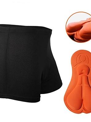 NUCKILY® Cueca Boxer Acolchoada Mulheres / UnissexoRespirável / Secagem Rápida / Design Anatômico / Resistente Raios Ultravioleta / Reduz