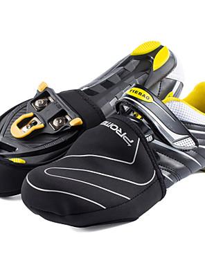 כיסויי נעל אופנייים עמיד למים / שמור על חום הגוף / עמיד יוניסקס שחור SBR