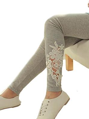 Nais- Housut - Söpö / Bodycon - Skinny - Polyesteri Mikrojoustava