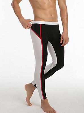 Běh Legíny / Spodní část oděvu Pánské Prodyšné elastan Box / Brusle / Volnočasové sporty / Badminton / Surfing Sportovní PřiléhavýZelená