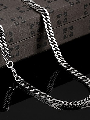 személyiség Európában és Amerikában helyreállítása ősi módon eltúlzott titán acél nyaklánc ékszer