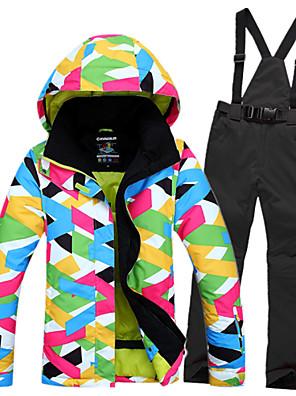 MulheresJaqueta / Moletom / Jaquetas de Esqui/Snowboard / Jaqueta Feminina / Jaqueta de Inverno / Blusas / Fundos / Conjuntos de