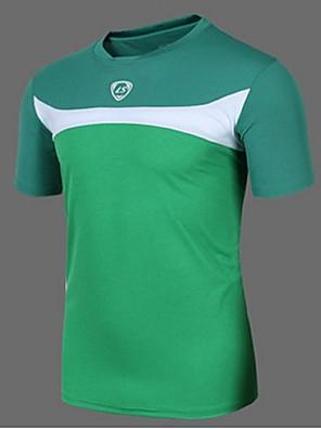 ספורטיבי חולצת ג'רסי לרכיבה לגברים שרוול קצר אופניים נושם / ייבוש מהיר / עמיד אולטרה סגול / חומרים קלים / תומך זיעה / רכות / רךטי שירט /