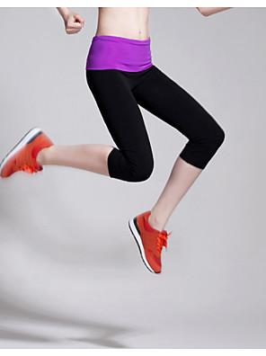 Běh 3/4 Tights / Legíny / Spodní část oděvu Dámské Prodyšné / Komprese / Streç / Ter Emen TerylenJóga / Pilates / Fitness / Volnočasové
