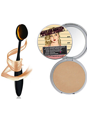 1pcs Make-up die b @ lm mary-lou Manizer Bronzer& Highlighter Kosmetik + 1pcs Meister oval Make-up-Pinsel