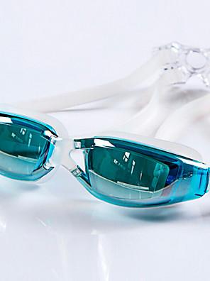 YUKE svømmebriller Dame / Herre / Unisex Anti-Tåge / Vandtæt / Justerbar Størrelse / Anti-UV Silika Gele PCLyserød / Grå / Sort / Blå /