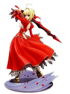 Fate/stay night Saber 23CM Anime Čísla akce Stavebnice Doll Toy