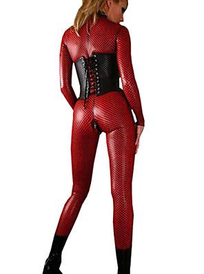 Cosplay Kostýmy Filmové a TV kostýmy / Kariéra kostýmy Festival/Svátek Halloweenské kostýmy Červená / Černá JednobarevnéLeotard/Kostýmový