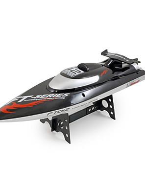 Speedbåd FL FT012 Racer RC Boat Børstefri Elektrisk 4CH 2.4G Sort