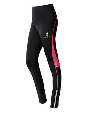 WEST אופניים® מכנסי רכיבה לנשים נושם / שמור על חום הגוף / דחיסה / רצועות מחזירי אור / 3D לוח אופנייםשורטים (מכנסיים קצרים) מרופדים / טייץ