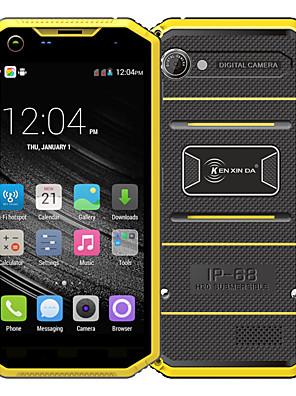 """Kenxinda PRONFINGS W7 5.0 """" Android 5.1 4G okostelefon (Két SIM Négymagos 8 MP 1 GB + 8 GB Szürke / Sárga)"""
