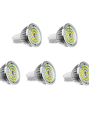 6W GU10 LED szpotlámpák 48 610 lm Meleg fehér / Természetes fehér AC 100-240 V 5 db.