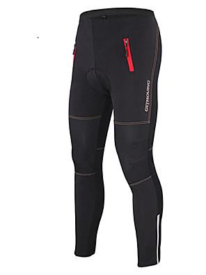Getmoving® Calças Para Ciclismo UnissexoImpermeável / Respirável / Mantenha Quente / A Prova de Vento / Design Anatômico / Forro de