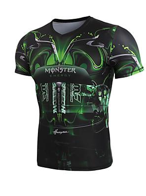 Getmoving®Yoga Kompression Suit Hurtigtørrende / Anatomisk design / Komprimering / Firevejs-strækbart Høj Elasticitet Sport WearYoga &