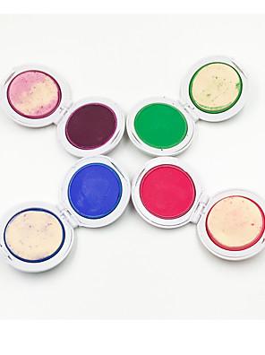 1Set 4 Colors Dye Hair Powdery CakeTemporary Hair Chalk Powder Dye Soft Pastels Salon Party Christmas DIY