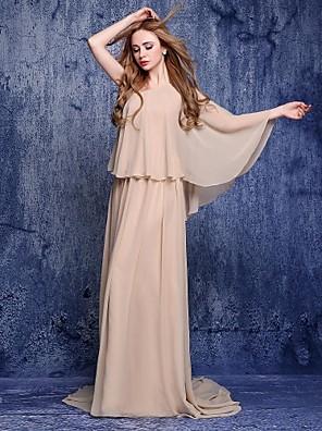 Lanting Bride® Plesové šaty Šaty pro matku nevěsty Dlouhá vlečka Šifón -