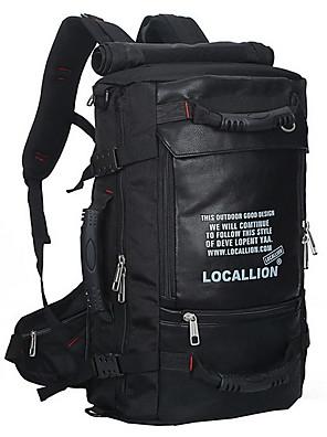 50 L Pacotes de Mochilas / Organizador de Viagem Esportes de Lazer Ao ar Livre Á Prova-de-Água / Seca Rapidamente / Vestível / Respirável