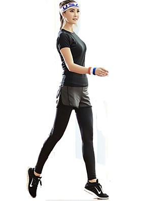 XAOYO® חולצה וטייץ לרכיבה לנשים לביש אופניים תחתיות גיזות כושר גופני אביב / קיץ / סתיו