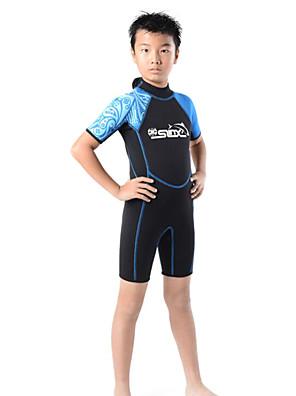 Ostatní Děti Potápěčské obleky Diving Suit Komprese Mokré obleky 2,5 až 2,9 mm Zelená / Růžová / Modrá S / M / L / XL / XXL Potápění