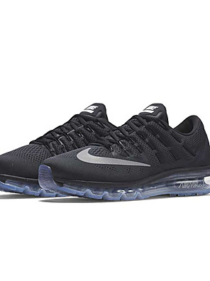 Nike Air Max 2016 Running Shoes Men's & Women's Black Nike airmax 2016 Athletic Shoes