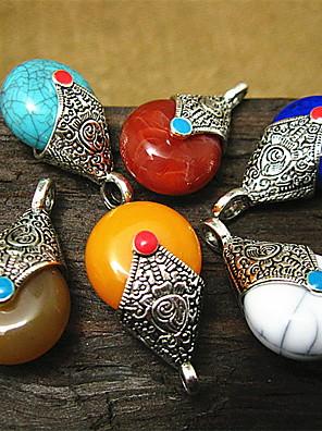 DIY smykker farverige harpiks charme