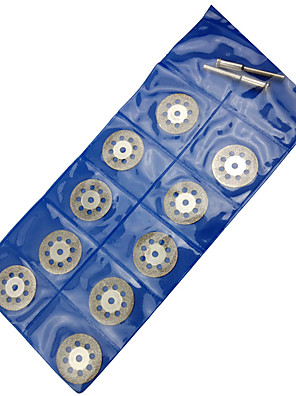 Az elektromos részeken Emery szelet jade jade kő penge szakaszok 10 db