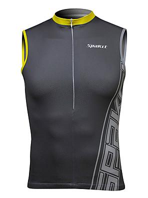 SPAKCT® Colete para Ciclismo Homens Sem Mangas Moto Respirável / Anti-Estático / Tiras Refletoras Blusas Elastano Clássico / Esportivo