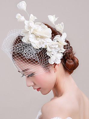 Ženy Tyl / Proutěné zboží / Síť Přílba-Svatba / Zvláštní příležitost / Neformální / Outdoor Ozdoby do vlasů Jeden díl