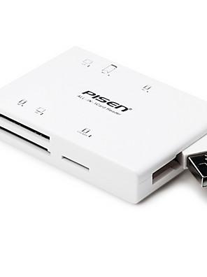 Pisen USB2.0 SD / TF / cf kártya olvasó