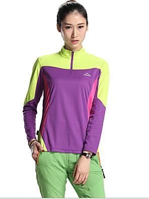 SPAKCT® חולצת ג'רסי לרכיבה לנשים שרוול ארוך אופניים נושם חולצה+שורטס / צמרות טרילן / טאקטל אופנתי קיץ כושר גופני